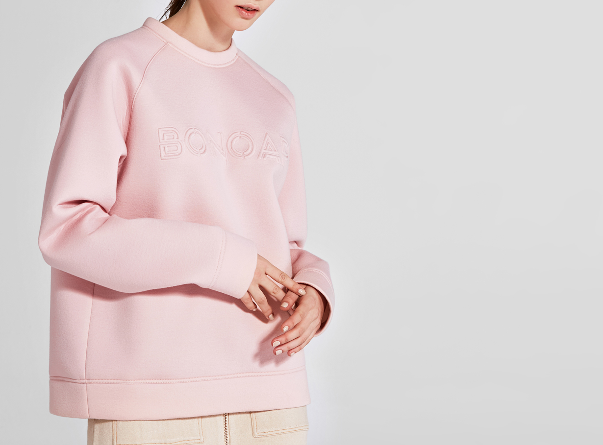 보놉 embo neoprene sweatshirt