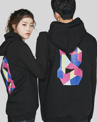 보놉 color block B hood