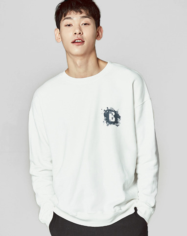 보놉 watercolor loosy sweatshirts