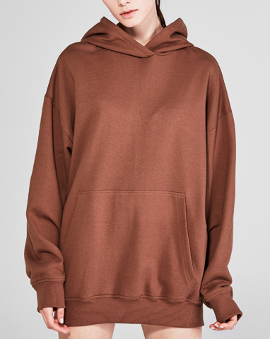 browny loosefit hood