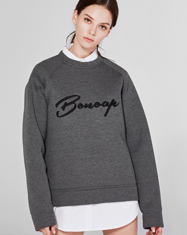 보놉 simply neoprene sweatshirt