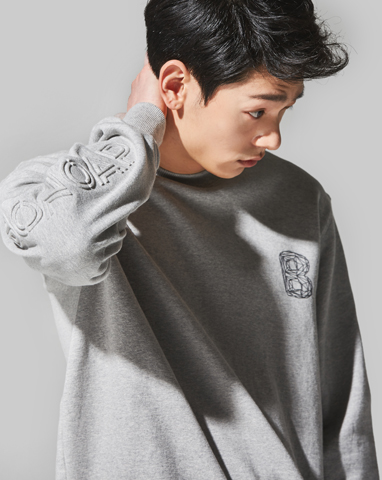 보놉 press volume fit sweatshirt (FREE)