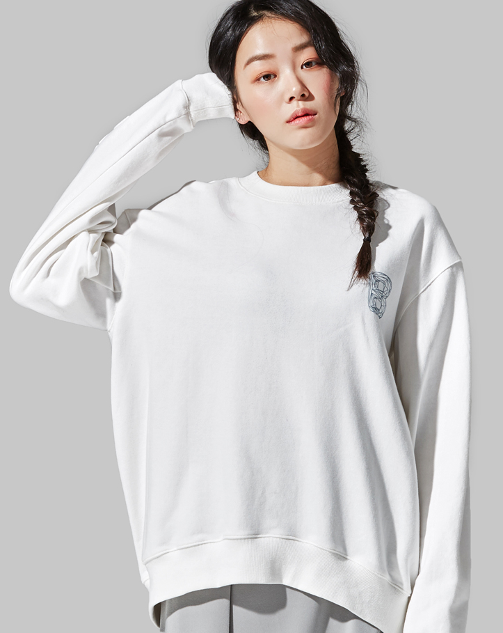 press volume fit sweatshirt (FREE)
